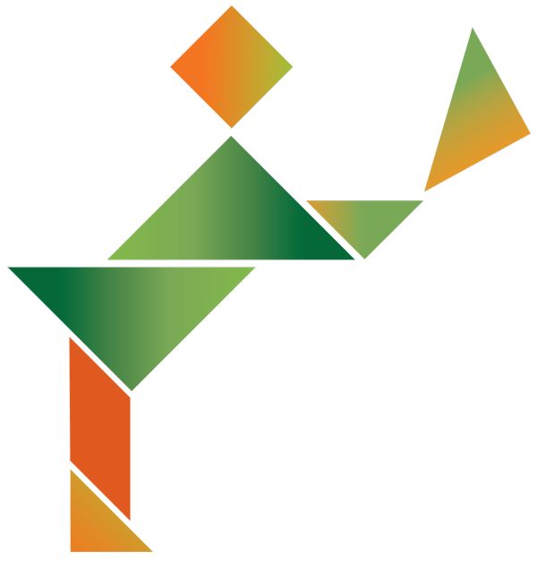 SERVING PERSON TANGRAM-RIGHT