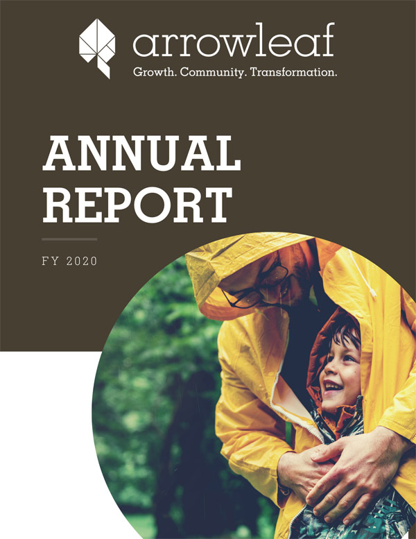 Arrowleaf Annual Report FY 2020 Cover Image